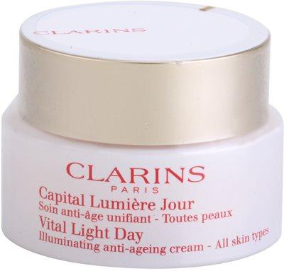 Clarins Vital Light verjüngende und aufhellende Tagescreme für alle Hauttypen