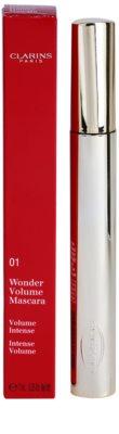 Clarins Eye Make-Up Wonder Volume tömegnövelő és szempilla-elválasztó szempillaspirál 2