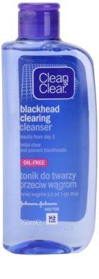Clean & Clear Blackhead Clearing tónico facial contra los puntos negros