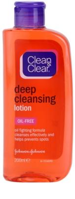 Clean & Clear Deep Cleansing lotiune faciala pentru curatare profunda
