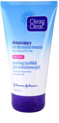 Clean & Clear Daily Essentials peeling tisztító gél