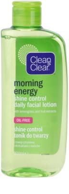 Clean & Clear Morning Energy zmatňující pleťová voda