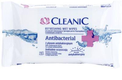 Cleanic Antibacterial odświeżające chusteczki nawilżane