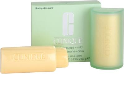 Clinique 3 Steps jabón para pieles secas y mixtas 1