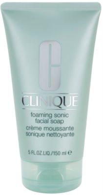 Clinique 3 Steps jabón espuma textura crema  para todo tipo de pieles