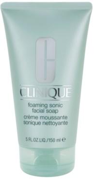 Clinique 3 Steps пенлив сапун-крем за всички типове кожа на лицето