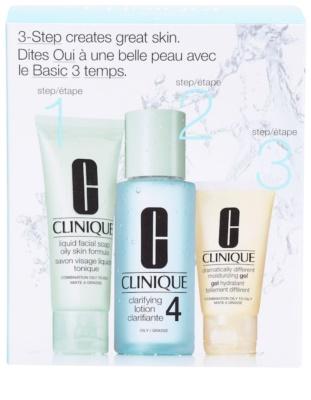 Clinique 3 Steps lote cosmético VIII.