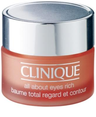Clinique All About Eyes crema hidratante para contorno de ojos antibolsas y antiojeras