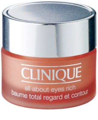 Clinique All About Eyes hidratáló szemkörnyékápoló krém a duzzanatokra és a sötét karikákra