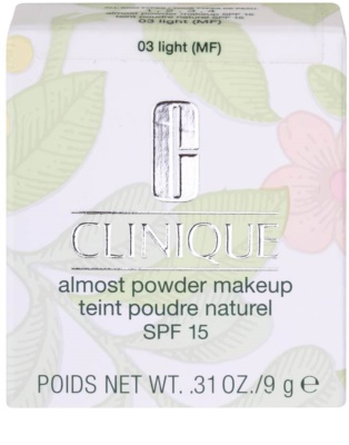 Clinique Almost Puder 4