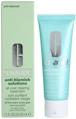 Clinique Anti - Blemish Feuchtigkeitscreme für problematische Haut, Akne 1
