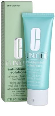 Clinique Anti - Blemish Feuchtigkeitscreme für problematische Haut, Akne 2