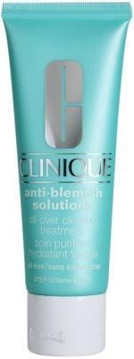 Clinique Anti - Blemish crema hidratante para pieles problemáticas y con acné