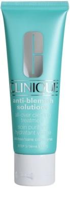 Clinique Anti - Blemish creme hidratante para pele problemática, acne