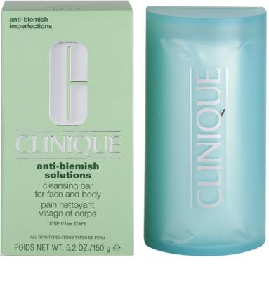 Clinique Anti - Blemish mýdlo pro problematickou pleť, akné 3
