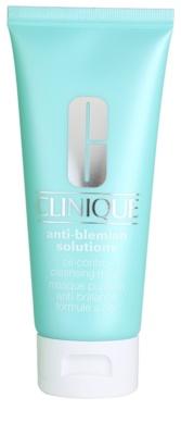 Clinique Anti - Blemish čistilna maska za mešano in mastno kožo