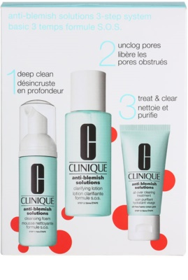 Clinique Anti - Blemish lote cosmético I.