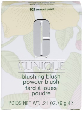 Clinique Blushing Blush pudrová tvářenka 2