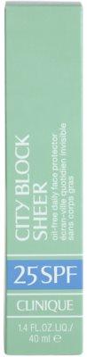 Clinique City Block Sheer крем для засмаги для всіх типів шкіри навіть чутливої 3
