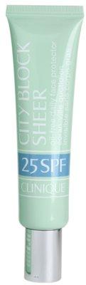 Clinique City Block Sheer crema pentru bronzat pentru toate tipurile de ten, inclusiv piele sensibila