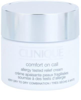 Clinique Comfort on Call creme hidratante para pele seca a muito seca
