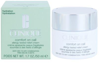 Clinique Comfort on Call хидратиращ крем  за суха или много суха кожа 2