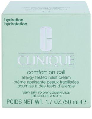 Clinique Comfort on Call хидратиращ крем  за суха или много суха кожа 3