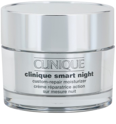 Clinique Clinique Smart hidratáló éjszakai krém a ráncok ellen száraz és kombinált bőrre