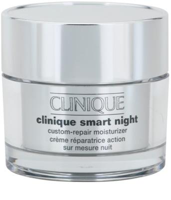 Clinique Clinique Smart хидратиращ нощен крем против бръчки за суха и смесена кожа