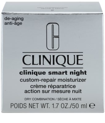 Clinique Clinique Smart crema de noche hidratante antiarrugas para pieles secas y mixtas 3
