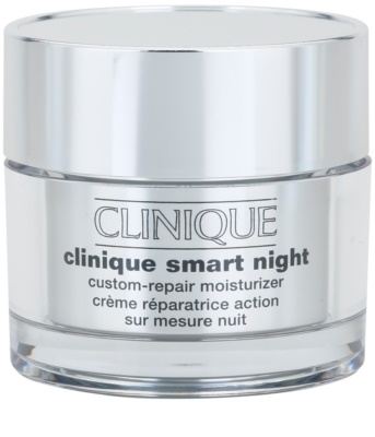 Clinique Clinique Smart hidratáló éjszakai krém a ráncok ellen kombinált és zsíros bőrre