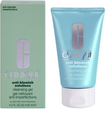 Clinique Anti-Blemish Solutions gel de curatare impotriva imperfectiunilor pielii 1