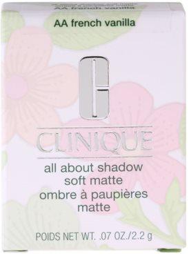 Clinique All About Shadow Soft Matte oční stíny 2