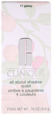 Clinique All About Shadow Quad sombra de ojos 4