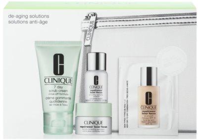 Clinique De-Aging Solutions Kosmetik-Set  I.
