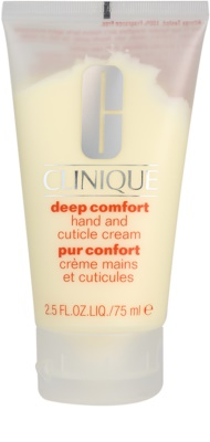 Clinique Deep Comfort krem do rąk do wszystkich rodzajów skóry