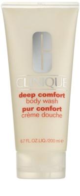 Clinique Deep Comfort crema de ducha suave para todo tipo de pieles