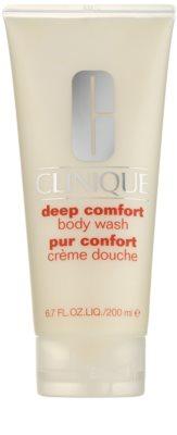 Clinique Deep Comfort sanfte Duschcreme für alle Oberhauttypen