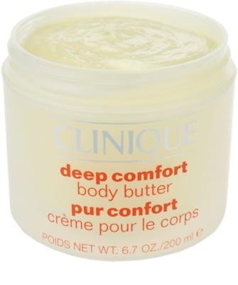 Clinique Hair and Body Care manteiga corporal  para pele muito seca 1
