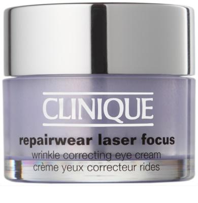 Clinique Repairwear Laser Focus crema antiarrugas contorno de ojos para todo tipo de pieles