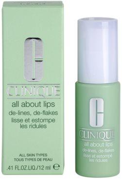 Clinique All About Lips bálsamo labial apto para pieles sensibles 2