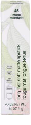 Clinique Long Last Soft Matte Lipstick langanhaltender Lippenstift für mattes Aussehen 3