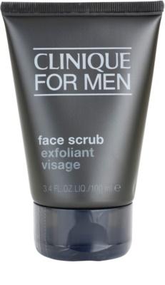 Clinique For Men пилинг за лице за мъже