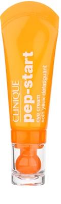 Clinique Pep-Start krema za predel okoli oči z vlažilnim učinkom proti oteklinam in temnim kolobarjem