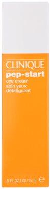 Clinique Pep-Start crema pentru ochi cu efect hidratant impotriva cearcanelor si ochilor umflati 2