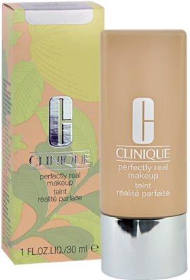 Clinique Perfectly Real tekutý make-up pro suchou a smíšenou pleť 2