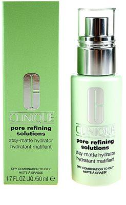 Clinique Pore Refining Solutions Care hydratisierende Pflege zum verkleinern der Poren 1