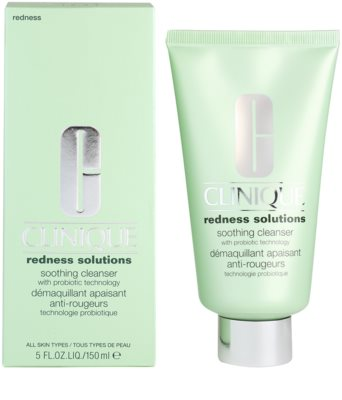 Clinique Redness Solutions gel limpiador para pieles sensibles 1