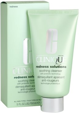 Clinique Redness Solutions gel limpiador para pieles sensibles 2