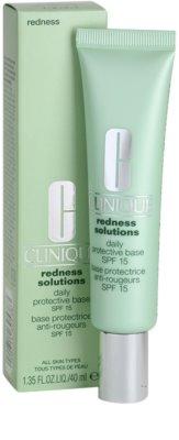 Clinique Redness Solutions creme protetor e calmante para reduzir o vermelhidão da pele 2